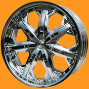 Диски Racing Wheels H 378 Chrome