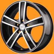 Диски Racing Wheels H 412 BKFP