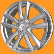 Шины Replica Hyundai 7311 Silver